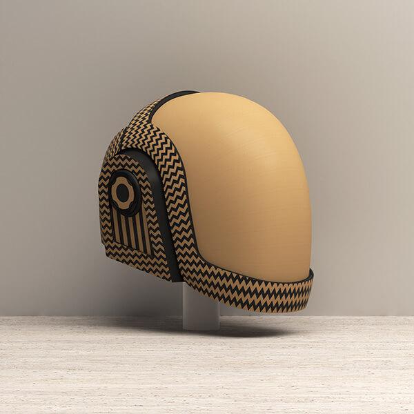 D helmet